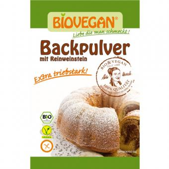 Weinstein Backpulver BIOVEGAN