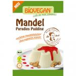 Bio Mandel Paradies Pudding