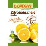 Bio Zitronenschale gerieben