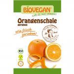 Bio Orangenschale gerieben
