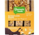 Vantastic foods BEYOND FLAKES Müsliriegel Banane, 90g (3x30g)