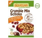 Biovegan Bio CRUMBLE MIX Schoko, 135g