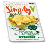 Simply V VEGANE GENIEßERSCHEIBEN Kräuter, 150g