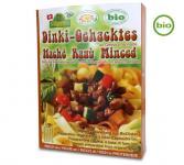 Bio Dinki-Gehacktes an Gewürzmarinade