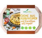 Well Well CREME AUS KÜRBISKERNEN und Karotten mit Ingwer, 125g