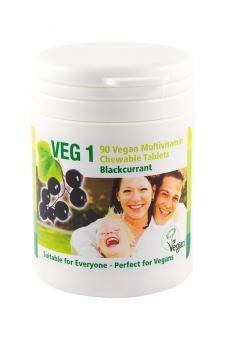 VEG 1 Vitaminsupplement Schwarze Johannisbeere