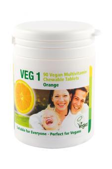 VEG 1 Vitaminsupplement Orange
