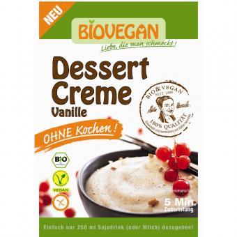 Bio Dessert Creme Vanille 52g - ohne Kochen