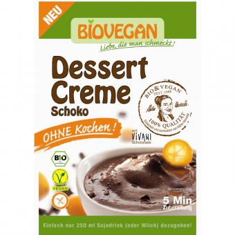 Bio Dessert Creme Schoko 68g - ohne Kochen