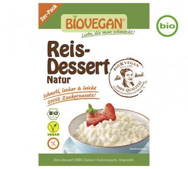 Biovegan Bio REIS-DESSERT Natur, 2x54g