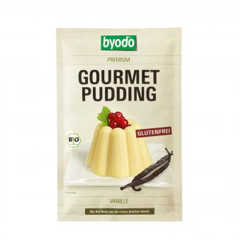 Byodo GOURMET PUDDING VANILLE, BIO, 36g