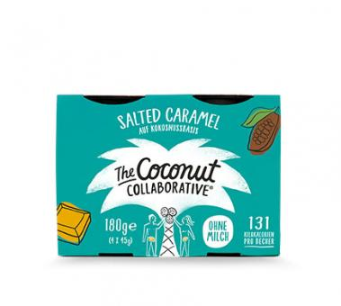 The Coconut Collaborative KOKOSDESSERT Salted Caramel, 4x45g
