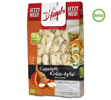 D'Angelo Bio CAPELLETI mit Kürbis-Apfel Mille, 250g