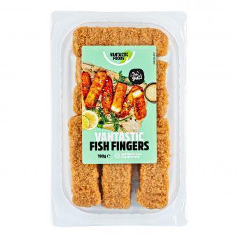 Vantastic foods VANTASTIC FISH FINGERS, 190g
