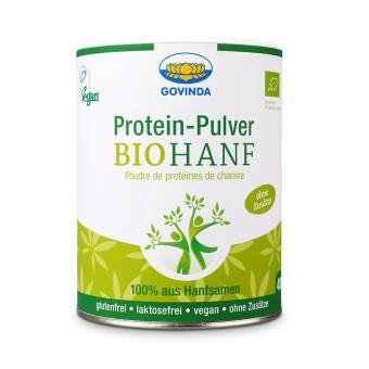Bio-Hanf-Proteinpulver