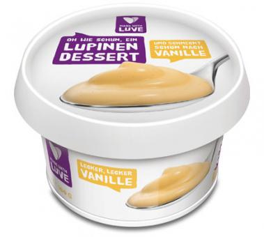 Made with Luve LUPINEN DESSERT Vanille, 150g