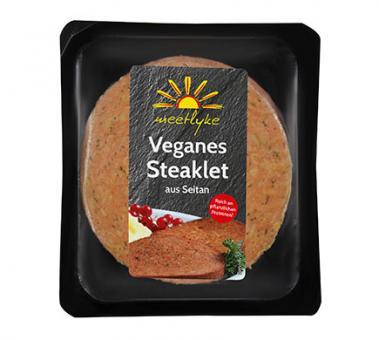 meetlyke Veganes STEAKLET, 150g