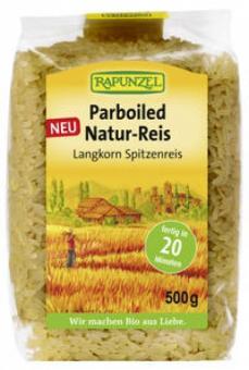 Rapunzel Parboiled Natur-Reis, 500g