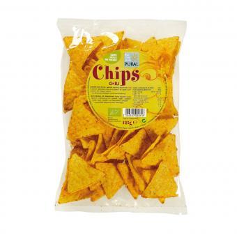 Pural MAIS-CHIPS Chili, BIO, 125g