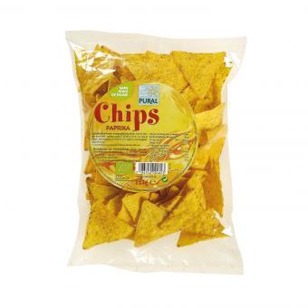 Pural MAIS-CHIPS Paprika, BIO, 125g
