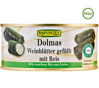 Rapunzel Bio DOLMAS - Weinblätter gefüllt mit Reis, 280g