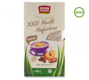 Rosengarten Bio PORRIDGE 1001 NACHT Haferbrei, 500g