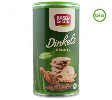 Rosengarten Bio DINKELS Kümmel Cräcker, 100g