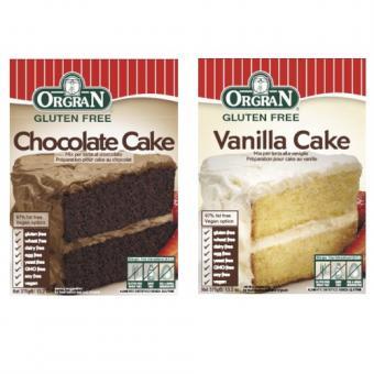 Schoko und Vanille Kuchen-Mix 375 Gramm