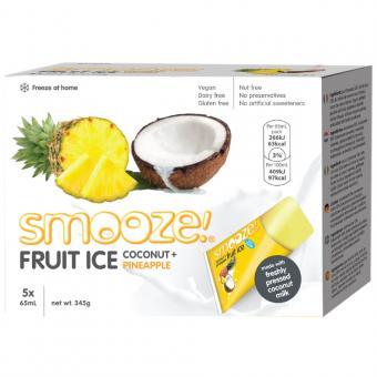 Fruchteis Ananas-Kokosnuss 5 x 65ml
