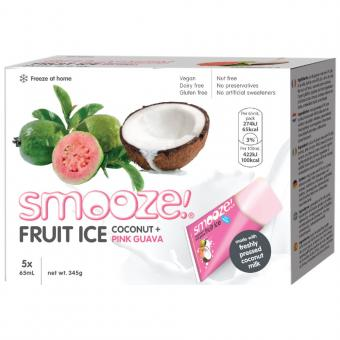 SMOOZE EIS Kokos Pink Guave 5 Stck.
