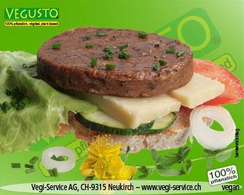 Vegi-Burger, Funghi & No-Muh 2 x 70 Gramm