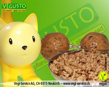 Vegi-Cat Forest  4 x100 gr Kugeln