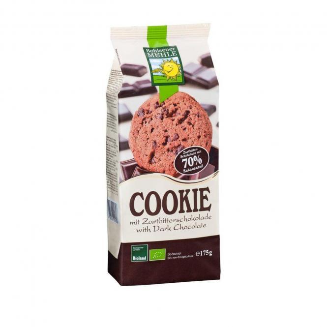 Bohlsener Mühle Bio COOKIE mit Zartbitterschokolade, 175g