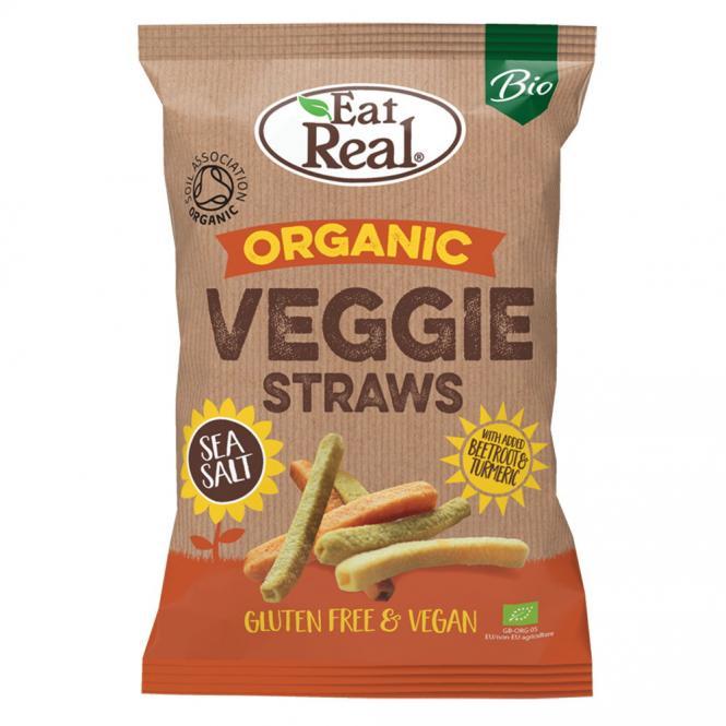 Bio Veggie Straws 100 Gramm