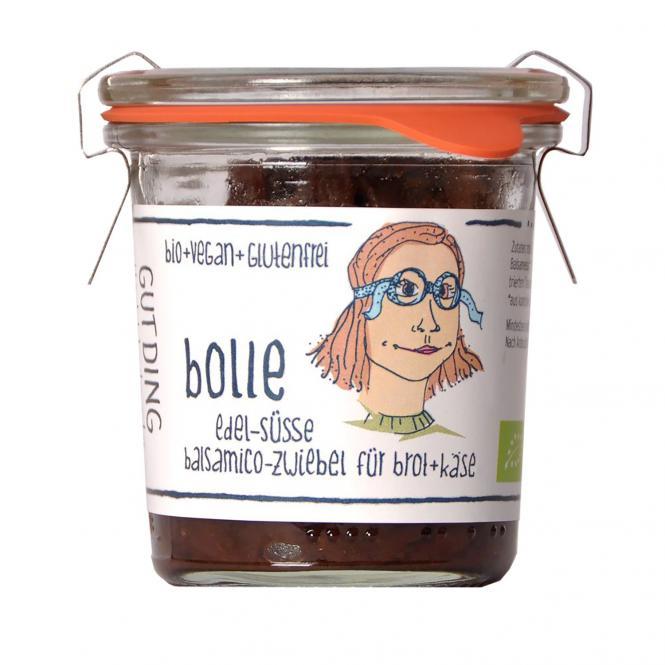 GUTDING BOLLE edel-süße Balsamico-Zwiebel, BIO, 100g