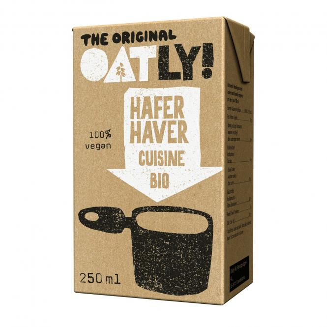 OATLY HAFER-CUISINE, BIO, 250ml
