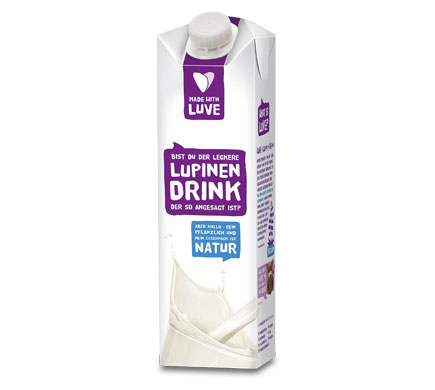 Made with Luve LUPINEN DRINK Natur, 1l