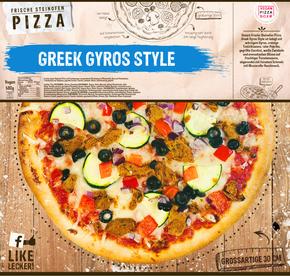 Pizza Greek Gyros Style