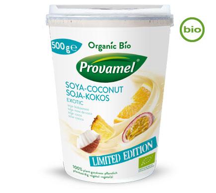 Provamel Bio SOJA JOGHURTALTERNATIVE Soja-Kokos Exotic, 500g