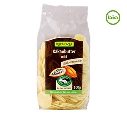 Rapunzel KAKAOBUTTER-CHIPS mild, 100g