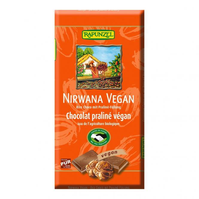 Rapunzel Nirwana Reismilch-Schokolade mit Trüffelfüllung