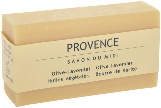 Karité-Seife - Provence Olive-Lavendel 100 Gramm