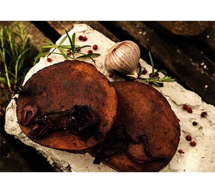 L'Herbivore Seitan-Lupinen-Bratscheibe geräuchert, BIO, 160g