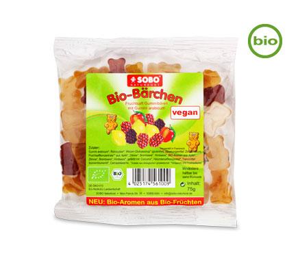 SOBO Bio BÄRCHEN mit Fruchtsaft, 75g
