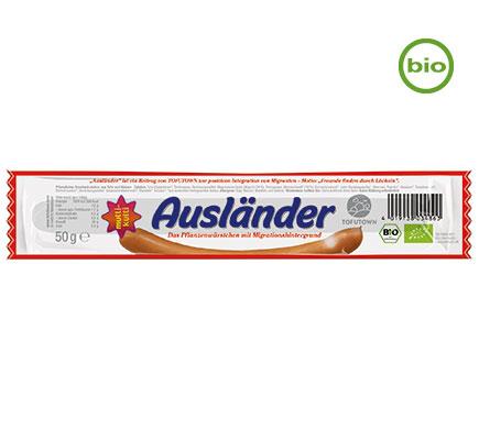 Viana AUSLÄNDER Veggie Snack, BIO, 50g